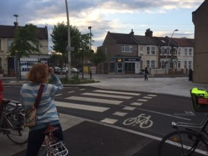 bicycle and pedestrian crossing