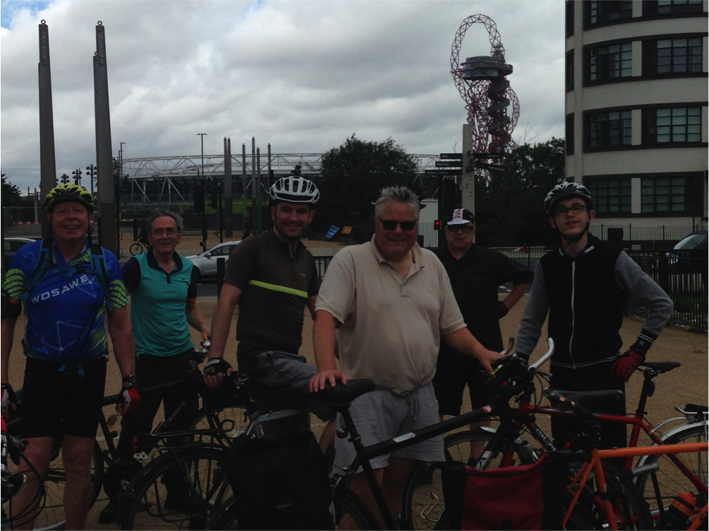 Steve's Ride Report – River Ride