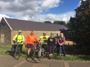 Ride Report:  Rainham Marsh 9 October 2016